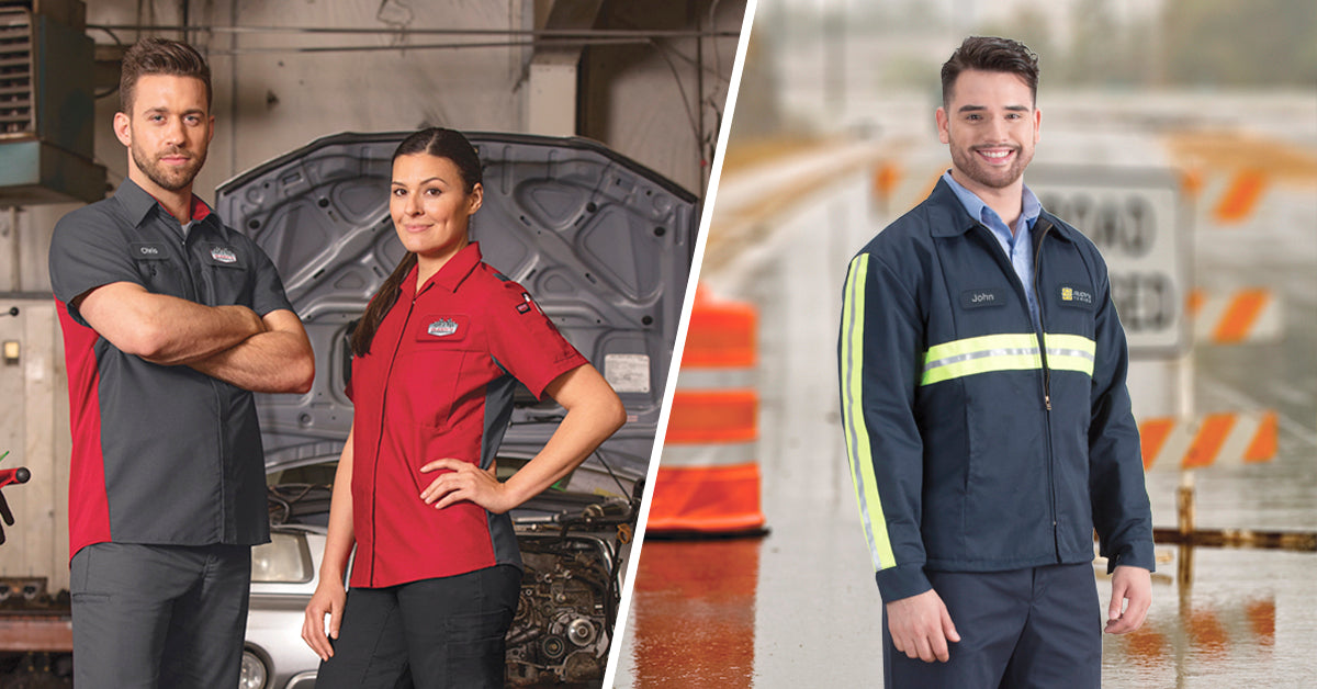 UniFirst automotive work uniforms promote and protect auto business