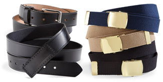 Purchase belts from UniFirst to augment rental uniforms