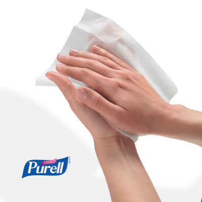 PURELL Hand Sanitizing Wipes are gentle on hands.