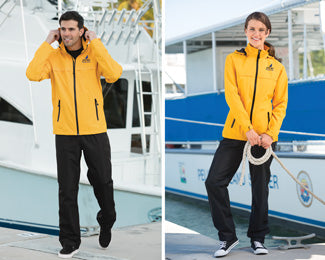 Purchase rain gear from UniFirst to augment rental uniforms