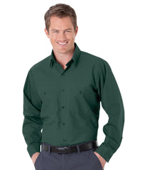 Spruce Green UniWeave® Soft Comfort Uniform Shirts Shown in UniFirst Uniform Rental Service Catalog