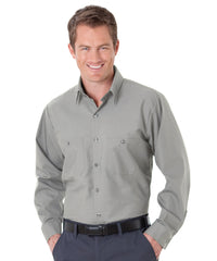 Grey UniWeave® Soft Comfort Uniform Shirts Shown in UniFirst Uniform Rental Service Catalog