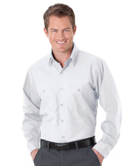 White UniWeave® Soft Comfort Uniform Shirts Shown in UniFirst Uniform Rental Service Catalog