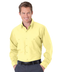 Yellow UniWeave® Soft Comfort Uniform Shirts Shown in UniFirst Uniform Rental Service Catalog