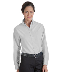 Grey UniFirst® Women's Oxfords Shown in UniFirst Uniform Rental Service Catalog