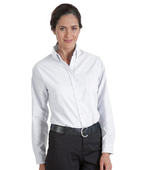 White UniFirst® Women's Oxfords Shown in UniFirst Uniform Rental Service Catalog