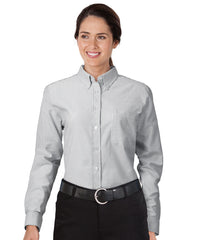 White/Grey UniFirst® Women's Oxfords Shown in UniFirst Uniform Rental Service Catalog