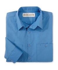 Breeze Weave® Traditional Stripes Work Shirts
