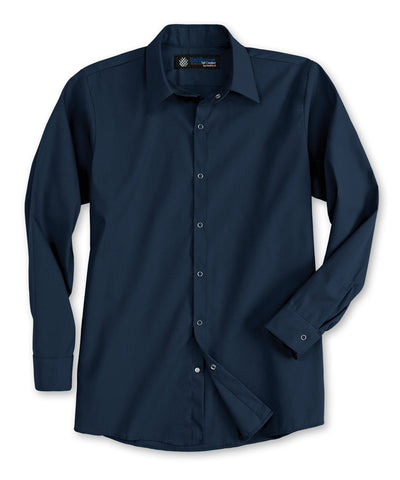 UniWeave® Men's Pocketless Food Processing Shirts