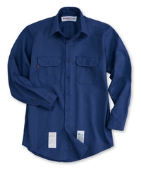 Royal Blue Armorex FR® Arc Rated Flame Resistant Work Shirts Shown in UniFirst Uniform Rental Service Catalog