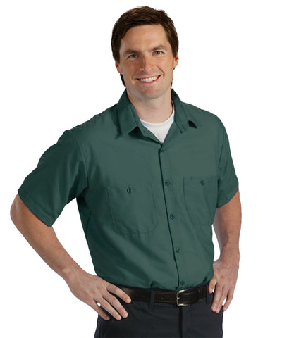 Brown UniWeave® Soft Comfort Uniform Shirts Shown in UniFirst Uniform Rental Service Catalog