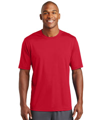 Men's Sport-Tek® PosiCharge® Tough Tees™ T-Shirt (Red) as shown in the UniFirst Uniform Rental Catalog