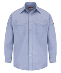 Bulwark® FR Uniform Shirts (Light Blue) as shown in the UniFirst Uniform Rental Catalog.