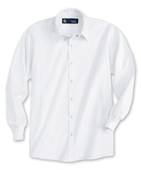 White UniWeave® Food Service Shirts Shown in UniFirst Uniform Rental Service Catalog