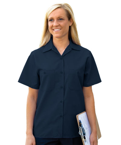 Women's Short Sleeve Uniform Shirts