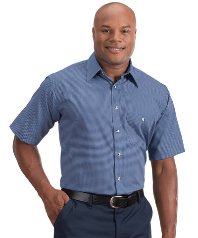 Short Sleeve Mini-Checks Shirts