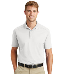 Men's Lightweight Short Sleeve Snag-Proof Polo Shirts (White) as shown in the UniFirst Rental Catalog