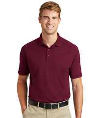Men's Lightweight Short Sleeve Snag-Proof Polo Shirts (Maroon) as shown in the UniFirst Rental Catalog