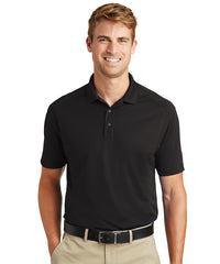 Men's Lightweight Short Sleeve Snag-Proof Polo Shirts (Black) as shown in the UniFirst Rental Catalog
