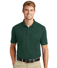 Men's Lightweight Short Sleeve Snag-Proof Polo Shirts (Dark Green) as shown in the UniFirst Rental Catalog
