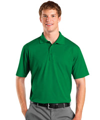 Kelly Green Men's UniSport™ Micropiqué Polos Shown in UniFirst Uniform Rental Service Catalog