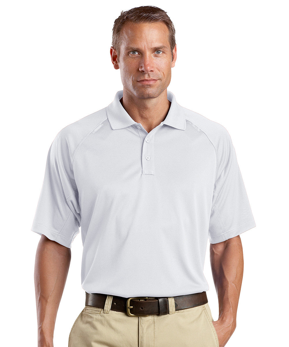 White Snag-Proof Tactical Polos Shown in UniFirst Uniform Rental Service Catalog
