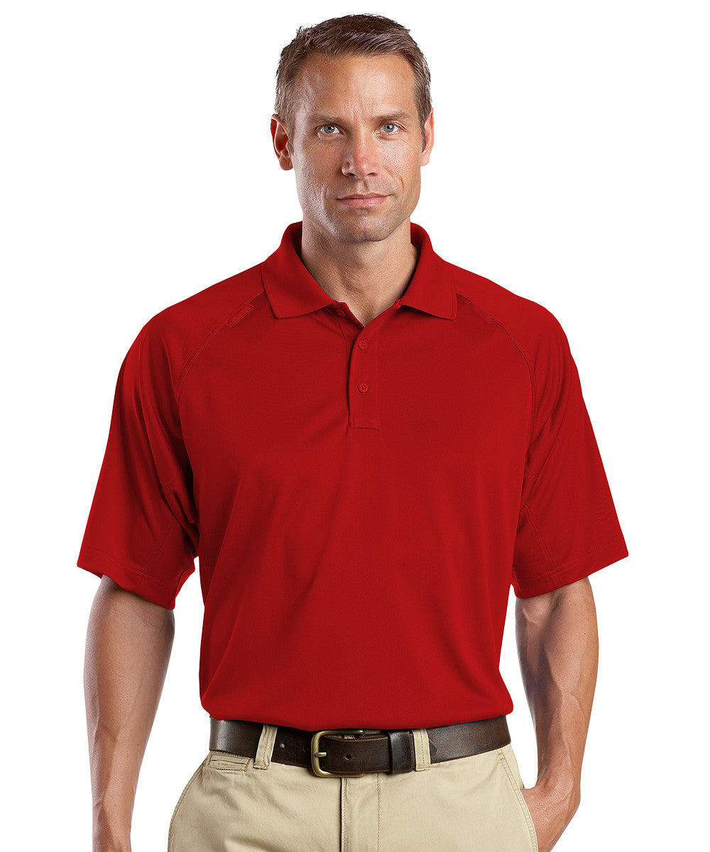 Red Snag-Proof Tactical Polos Shown in UniFirst Uniform Rental Service Catalog