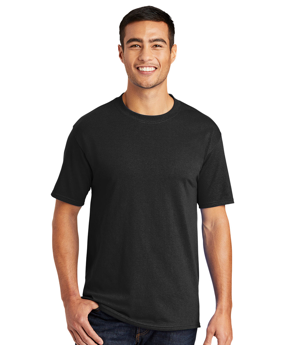 Men's Short Sleeve Classic T-Shirts (Black) as shown in the UniFirst Uniform Rental Catalog.