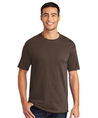 Men's Short Sleeve Classic T-Shirts (Brown) as shown in the UniFirst Uniform Rental Catalog.