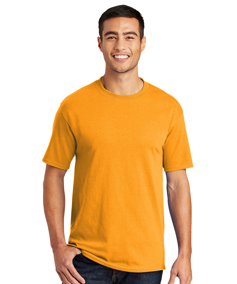 Men's Short Sleeve Classic T-Shirts (Gold) as shown in the UniFirst Uniform Rental Catalog.