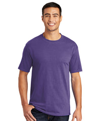 Men's Short Sleeve Classic T-Shirts (Purple) as shown in the UniFirst Uniform Rental Catalog.