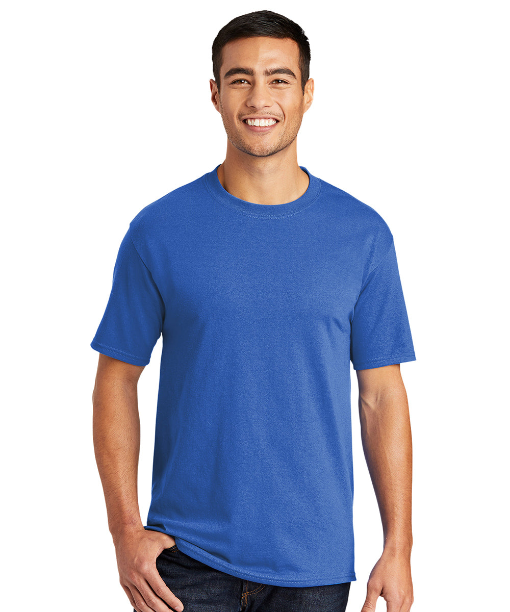 Men's Short Sleeve Classic T-Shirts (Royal Blue) as shown in the UniFirst Uniform Rental Catalog.