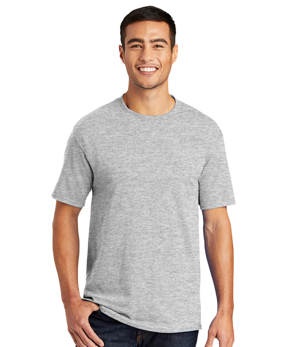 Men's Short Sleeve Classic T-Shirts (Ash) as shown in the UniFirst Uniform Rental Catalog.