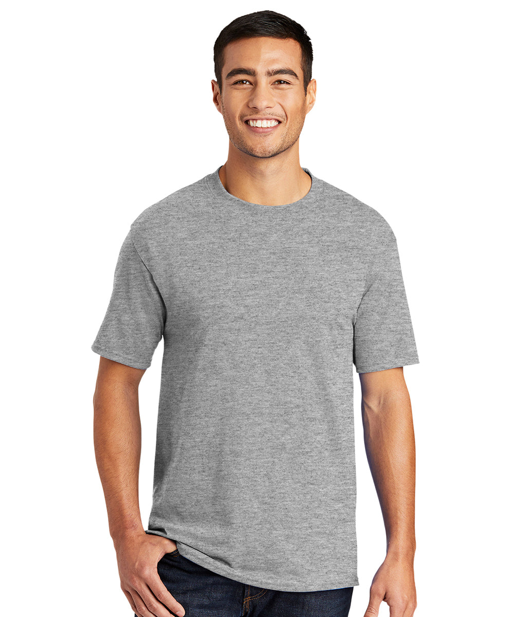 Men's Short Sleeve Classic T-Shirts (Athletic Heather) as shown in the UniFirst Uniform Rental Catalog.