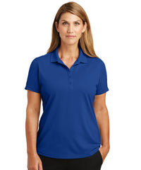 Women's Lightweight Short Sleeve Snag-Proof Polo Shirts (Royal Blue) as shown in the UniFirst Uniforms Rental Catalog