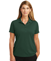 Women's Lightweight Short Sleeve Snag-Proof Polo Shirts (Dark Green) as shown in the UniFirst Uniforms Rental Catalog