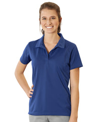 Women's UniSport™ Micropiqué Polos (Royal Blue) Shown in UniFirst Uniform Rental Service Catalog