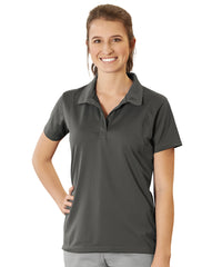 Women's UniSport™ Micropiqué Polos (Steel Grey) Shown in UniFirst Uniform Rental Service Catalog