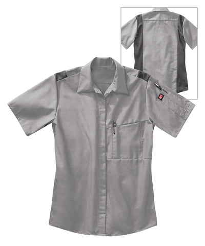 Women's OilBlok Performance Short Sleeve Shop Shirts