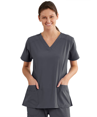 Women's WonderWink INDY™ V-Neck Scrub Tops
