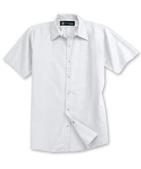 White UniFirst® Food Service Shirts Shown in UniFirst Uniform Rental Service Catalog