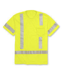 ANSI Class 3 High Visibility Short Sleeve Pocket T-Shirts