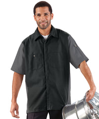 Short Sleeve Ripstop Automotive Crew Shirts