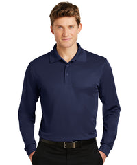 Sport-Tek® Micropiqué Polos (Navy Blue) Shown in UniFirst Uniform Rental Service Catalog