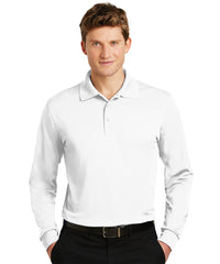 Sport-Tek® Micropiqué Polos (White) Shown in UniFirst Uniform Rental Service Catalog