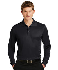 Sport-Tek® Micropiqué Polos (Black) Shown in UniFirst Uniform Rental Service Catalog