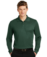 Sport-Tek® Micropiqué Polos (Hunter Green) Shown in UniFirst Uniform Rental Service Catalog