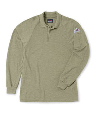 Bulwark® Flame Resistant Polo Shirt in Khaki as shown in the UniFirst UniForm Rental Catalog