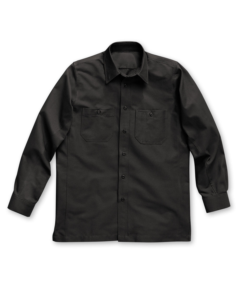 Black Dickies® Canvas Work Shirts Shown in UniFirst Uniform Rental Service Catalog