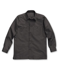 Charcoal Dickies® Canvas Work Shirts Shown in UniFirst Uniform Rental Service Catalog